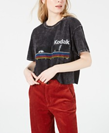 True Vintage Cotton Kodak Graphic T-Shirt