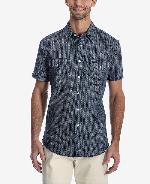 Wrangler Men's Authentic Western Short-Sleeve Shirt