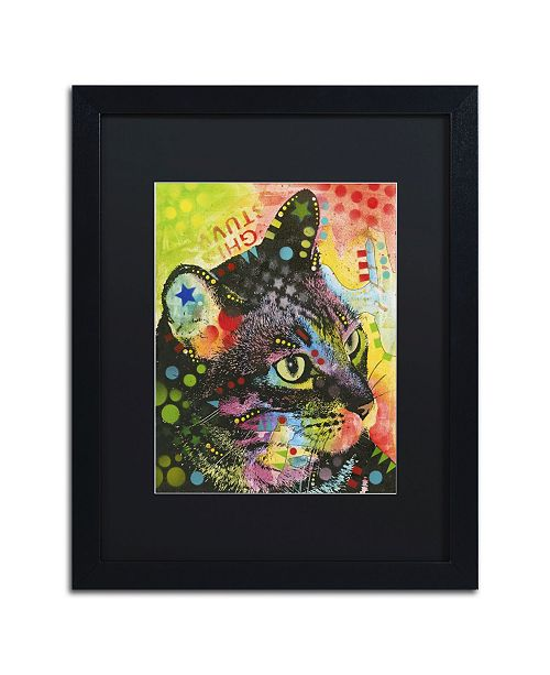 """Trademark Global Dean Russo 'What Was That' Matted Framed Art - 16"""" x 20"""" x 0.5"""""""