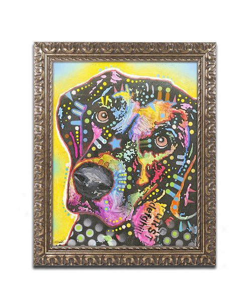 "Trademark Global Dean Russo '05' Ornate Framed Art - 14"" x 11"" x 0.5"""