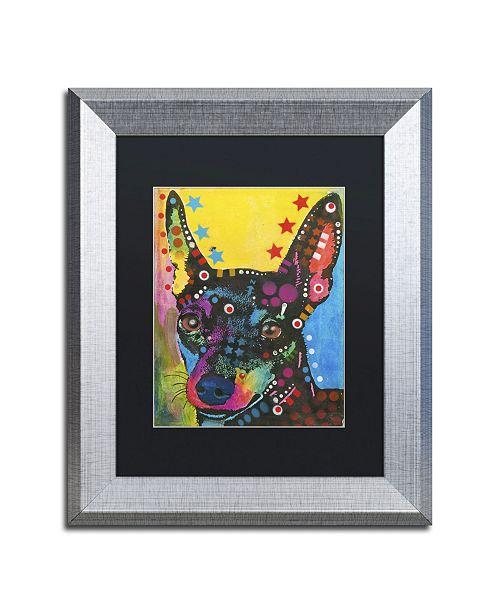 """Trademark Global Dean Russo '07' Matted Framed Art - 14"""" x 11"""" x 0.5"""""""