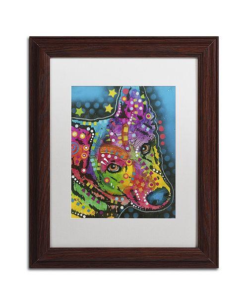 """Trademark Global Dean Russo '08' Matted Framed Art - 14"""" x 11"""" x 0.5"""""""