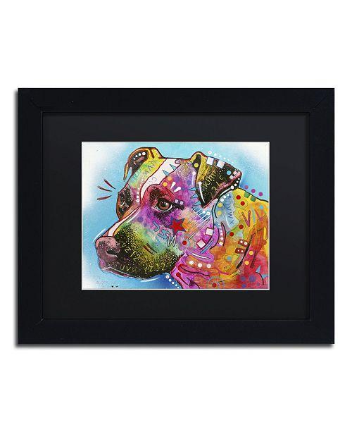 """Trademark Global Dean Russo '26' Matted Framed Art - 11"""" x 14"""" x 0.5"""""""