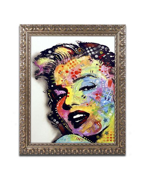 "Trademark Global Dean Russo 'Marilyn Monroe II' Ornate Framed Art - 14"" x 11"" x 0.5"""