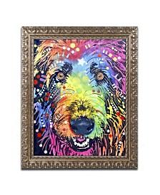 "Dean Russo 'Irish Wolfhound' Ornate Framed Art - 14"" x 11"" x 0.5"""