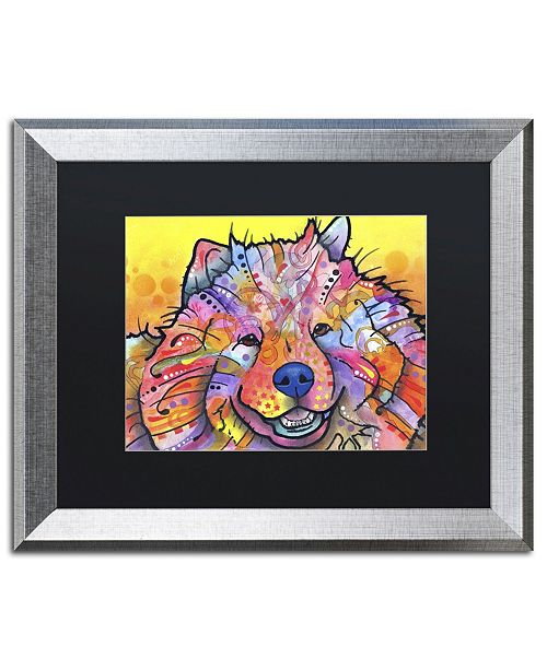 "Trademark Global Dean Russo 'Benzi' Matted Framed Art - 20"" x 16"" x 0.5"""