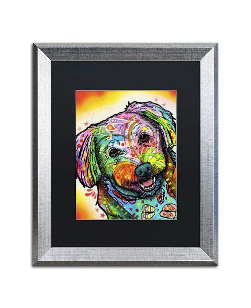 """Trademark Global Dean Russo 'Daisy' Matted Framed Art - 20"""" x 16"""" x 0.5"""""""