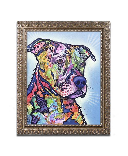 "Trademark Global Dean Russo 'Deacon' Ornate Framed Art - 14"" x 11"" x 0.5"""