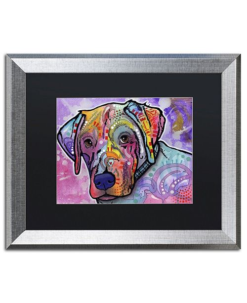 "Trademark Global Dean Russo 'Petunia' Matted Framed Art - 20"" x 16"" x 0.5"""