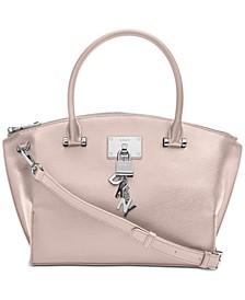 Elissa Top-Zip Pebble Satchel, Created for Macy's