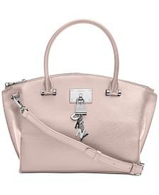 DKNY Elissa Top-Zip Pebble Satchel, Created for Macy's