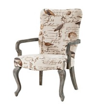 Bridgitte Fabric Accent Chair, Quick Ship