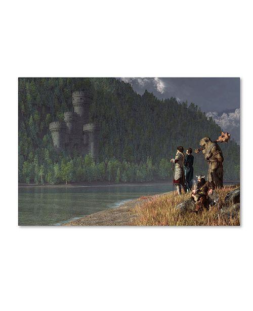 "Trademark Global Daniel Eskridge 'Fantasy Quest' Canvas Art - 32"" x 22"" x 2"""