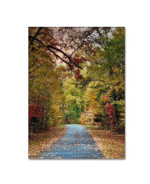 """Trademark Global Jai Johnson 'Autumn Passage 3' Canvas Art - 32"""" x 24"""" x 2"""""""