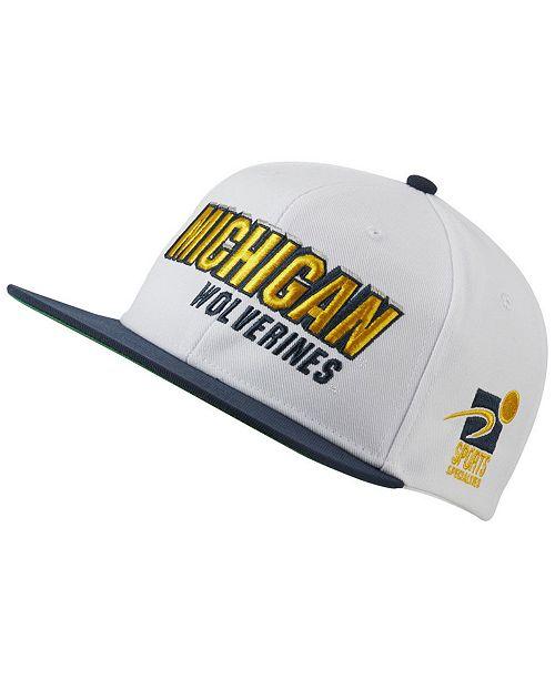 super popular c304c 60df4 ... Nike Michigan Wolverines Sport Specialties Shadow Snapback Cap ...