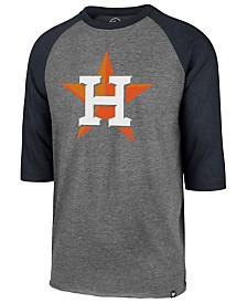 '47 Brand Men's Houston Astros Throwback Club Raglan T-Shirt