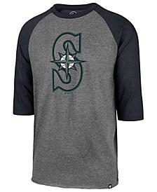 Men's Seattle Mariners Throwback Club Raglan T-Shirt