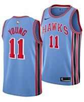 fafd180ee5ec Nike Men s Trae Young Atlanta Hawks Hardwood Classic Swingman Jersey