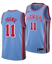 727a3ee3e Nike Men s Trae Young Atlanta Hawks Hardwood Classic Swingman Jersey