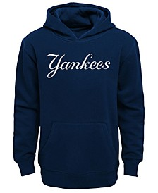 Little Boys New York Yankees Wordmark Pullover Fleece Hoodie