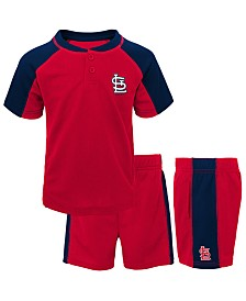 Outerstuff Baby St. Louis Cardinals Play Strong Short Set