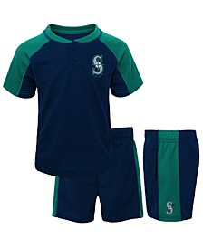 Baby Seattle Mariners Play Strong Short Set