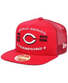 Cincinnati Reds Team Front Trucker 9FIFTY Snapback Cap