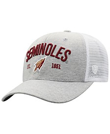 Top of the World Florida State Seminoles Notch Heather Trucker Cap