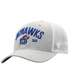 Top of the World Kansas Jayhawks Notch Heather Trucker Cap