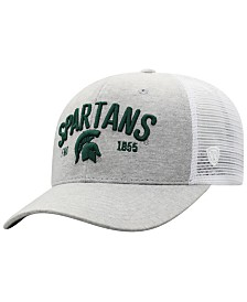 Top of the World Michigan State Spartans Notch Heather Trucker Cap