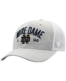 Top of the World Notre Dame Fighting Irish Notch Heather Trucker Cap
