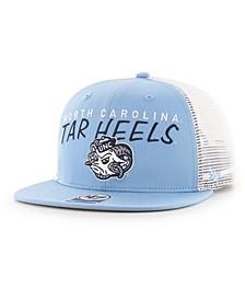 Big Boys North Carolina Tar Heels Wordmark Captain Snapback Cap