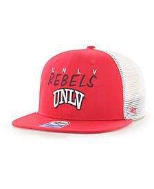 Big Boys UNLV Runnin Rebels Wordmark Captain Snapback Cap