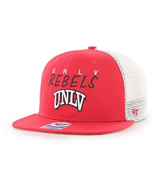 '47 Brand Big Boys UNLV Runnin Rebels Wordmark Captain Snapback Cap