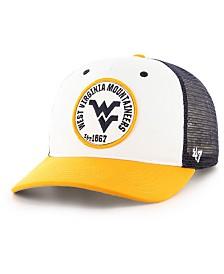 '47 Brand West Virginia Mountaineers Swell MVP Trucker Snapback Cap