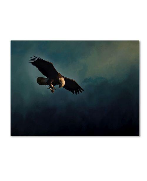 "Trademark Global Jai Johnson 'Fishing At Dusk' Canvas Art - 24"" x 18"" x 2"""