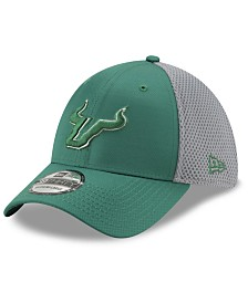 New Era South Florida Bulls TC Gray Neo 39THIRTY Cap
