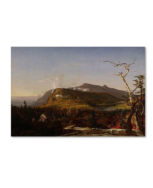 "Trademark Global Cropsey 'Catskill Mountain House' Canvas Art - 47"" x 30"" x 2"""