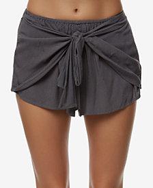 O'Neill Juniors' Tie-Front Shorts