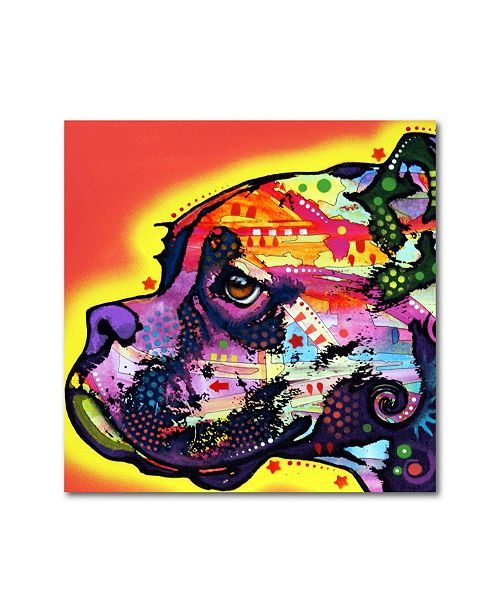 "Trademark Global Dean Russo 'Profile Boxer' Metal Art - 16"" x 16"" x 0.125"""