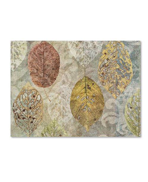 "Trademark Global Cora Niele 'Autumn Leaves' Canvas Art - 32"" x 24"" x 2"""