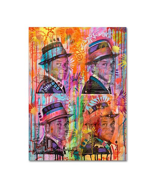 "Trademark Global Dean Russo 'Frankie' Canvas Art - 19"" x 14"" x 2"""