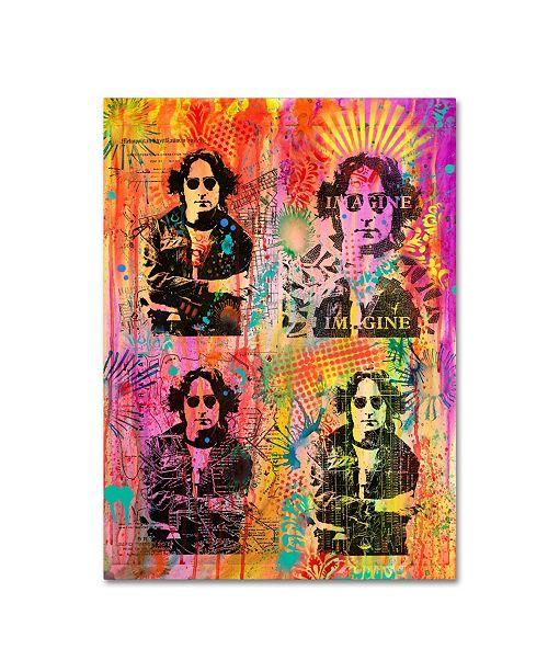 """Trademark Global Dean Russo 'John' Canvas Art - 47"""" x 35"""" x 2"""""""