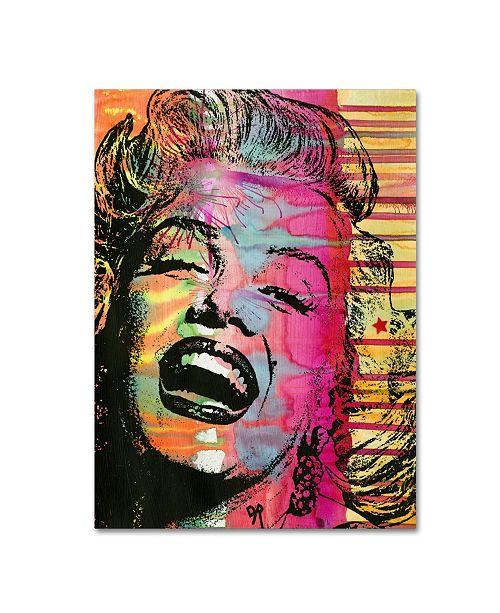 "Trademark Global Dean Russo 'Marilyn' Canvas Art - 19"" x 14"" x 2"""