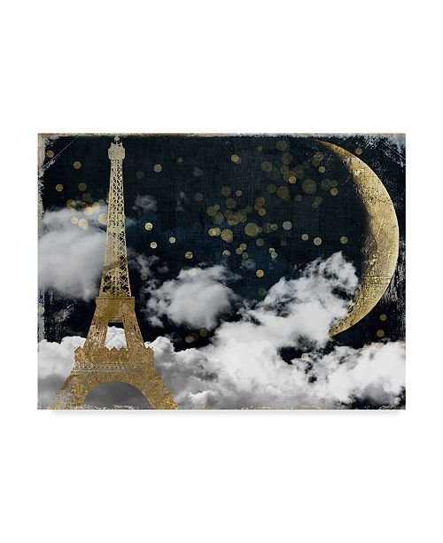 "Trademark Global Color Bakery 'Cloud Cities Paris' Canvas Art - 47"" x 35"" x 2"""