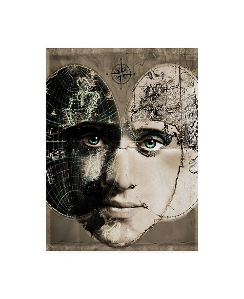 "Trademark Global Dana Brett Munach 'The Journey' Canvas Art - 24"" x 18"" x 2"""