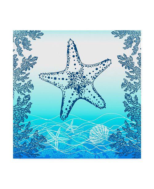 "Trademark Global Irina Trzaskos Studio 'Ocean I' Canvas Art - 35"" x 35"" x 2"""