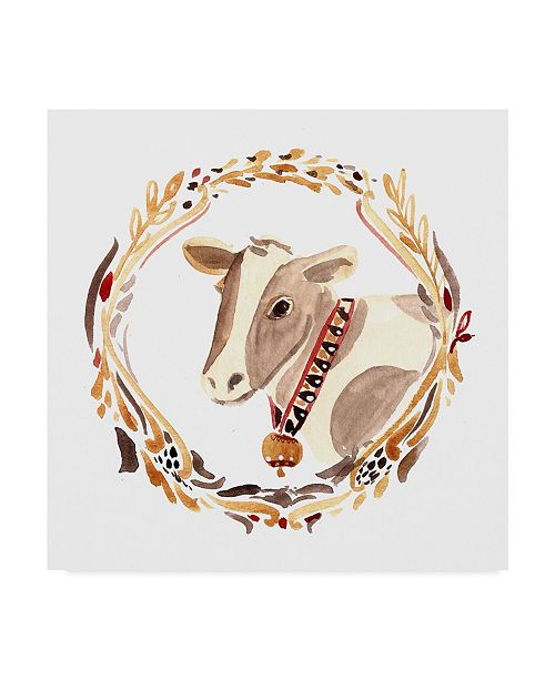 "Trademark Global Irina Trzaskos Studio 'Farm 1' Canvas Art - 18"" x 18"" x 2"""