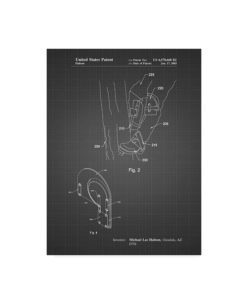 "Trademark Global Cole Borders 'Mechanics 21' Canvas Art - 47"" x 35"" x 2"""