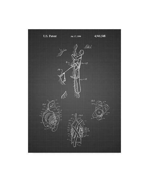 "Trademark Innovations Cole Borders 'Climbing Gear' Canvas Art - 32"" x 24"" x 2"""